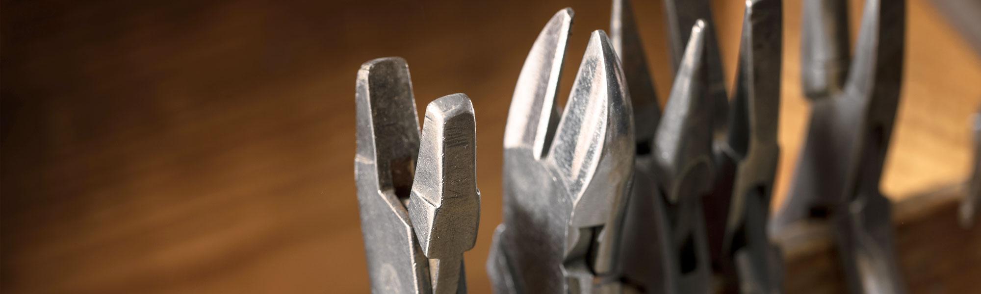 Werkzeuge zur Schmuckbearbeitung