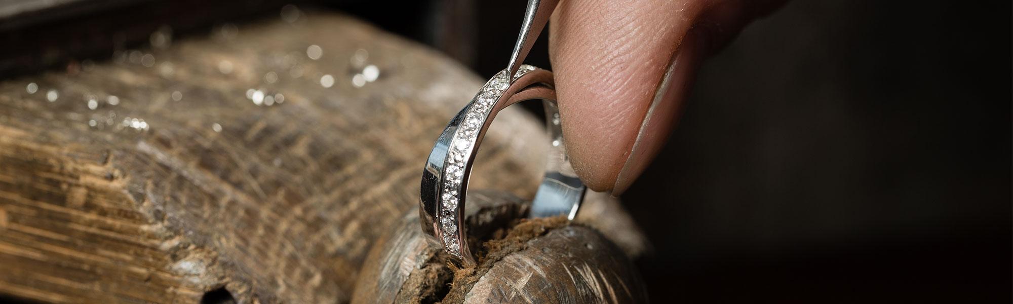 Bearbeitung eines Ringes